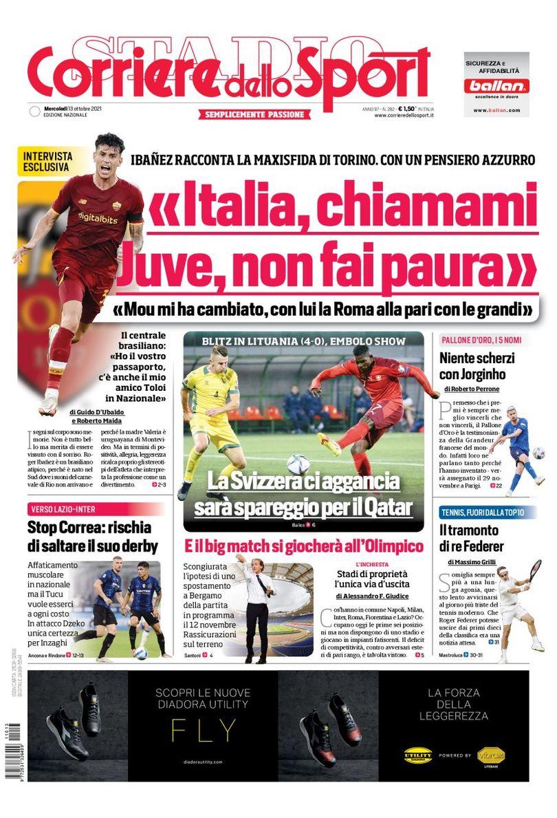 «Милан» тянет… травмы. Заголовки Gazzetta, TuttoSport и Corriere за 13 октября