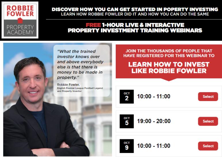 Инвестируй, как Робби Фаулер: мини-империя, советы на миллион и 325 квартир возле Энфилда