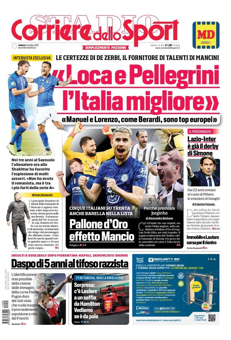«Интер», два подарка для повтора». Заголовки Gazzetta, TuttoSport и Corriere за 9 октября