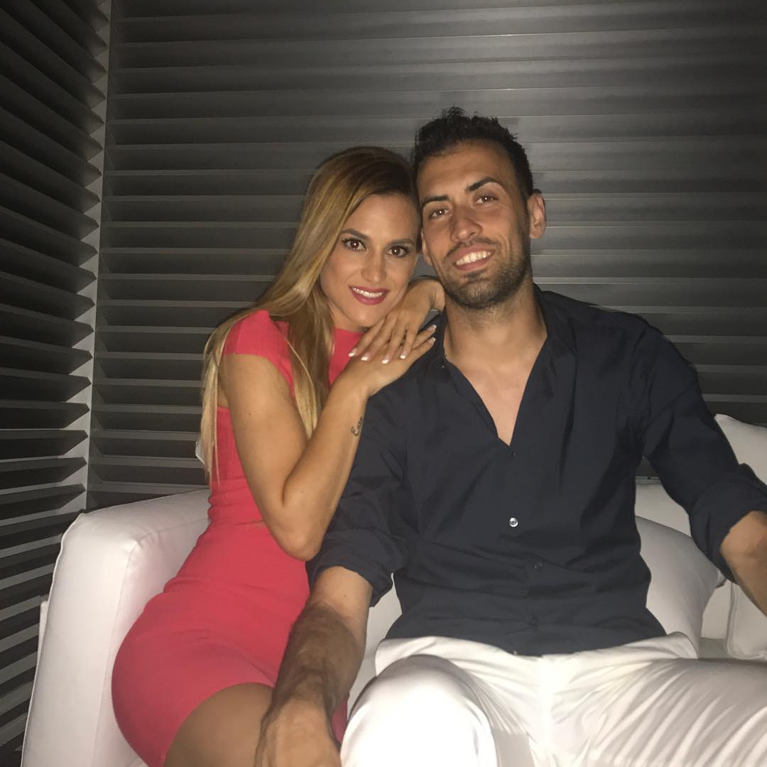 Елена Галера – жена Серджи Бускетса. Именно ей капитан «Барселоны» посвятил все свои голы!