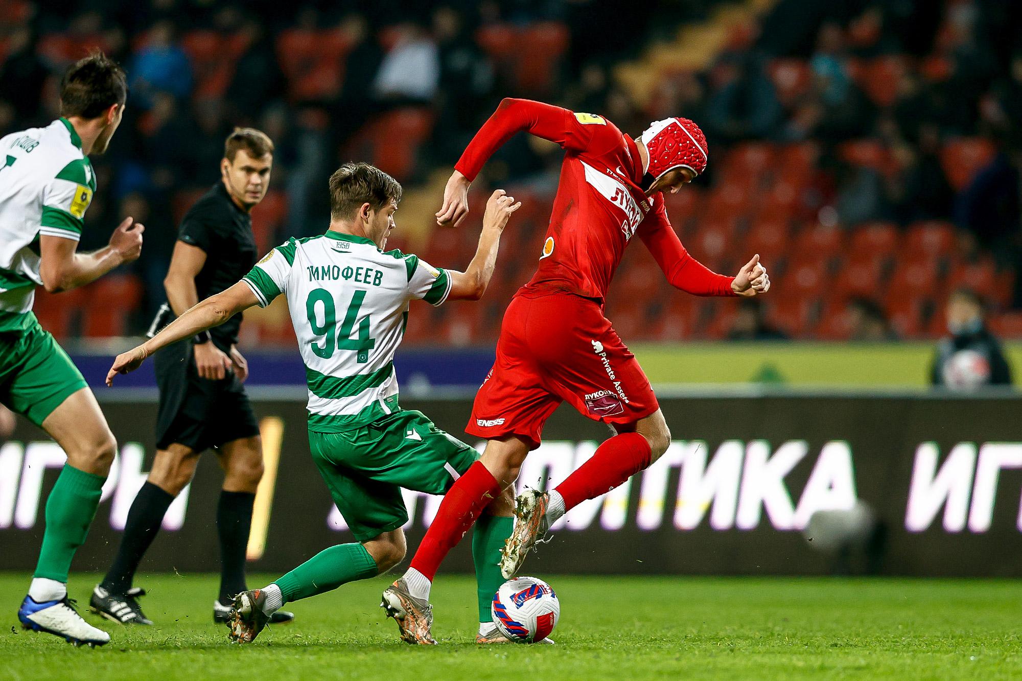 «Спартак» провёл образцово-показательную игру в Грозном